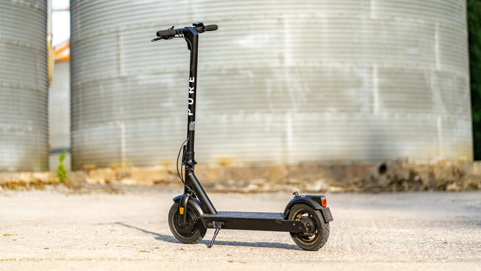 new Pure Air Pro electric kick scooter
