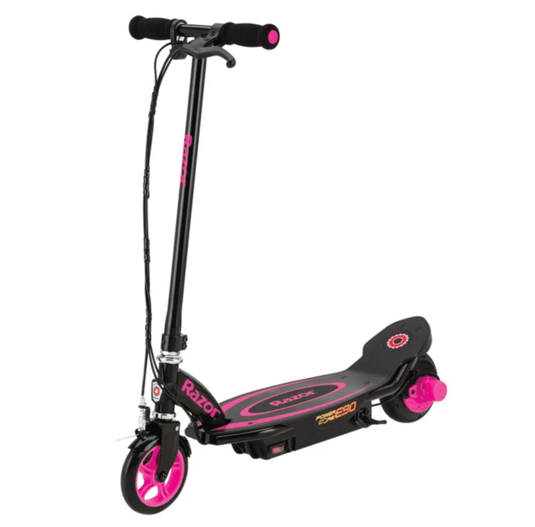 Razor powercore in bright girly pink